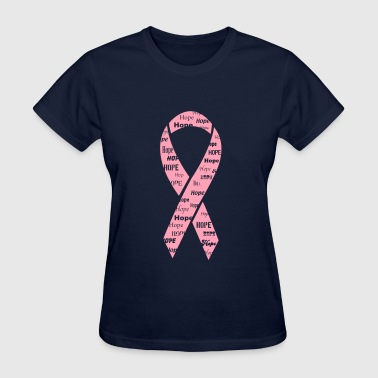 Pink Ribbon Hope - Women's T-Shirt