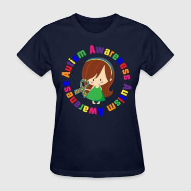 Autism Awareness Girl - Women's T-Shirt