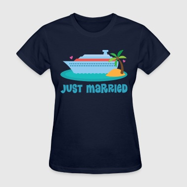 Just Married Honeymoon Cruise - Women's T-Shirt