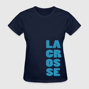Lacrosse Tall Design - Women's T-Shirt