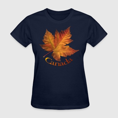 Canada Maple Leaf Art Souvenirs & T-shirts  - Women's T-Shirt