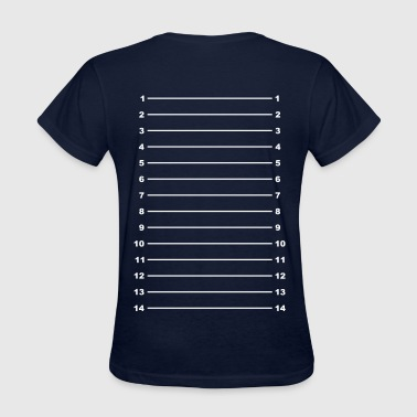 Hair Length Check Length Check T-Shirt Plain - Women's T-Shirt