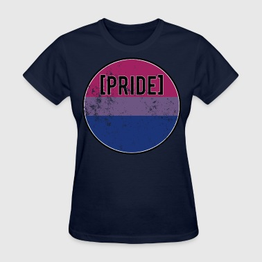 Distressed Bi - Women's T-Shirt