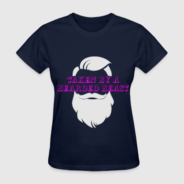 Taken By A Bearded Beast  ©WhiteTigerLLC.com  	 - Women's T-Shirt