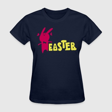 Easter txt & Easter Bunny  - Women's T-Shirt