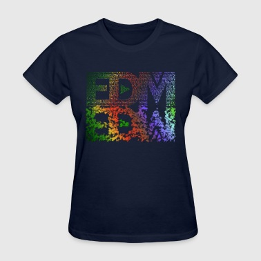 ethanx edm double - Women's T-Shirt