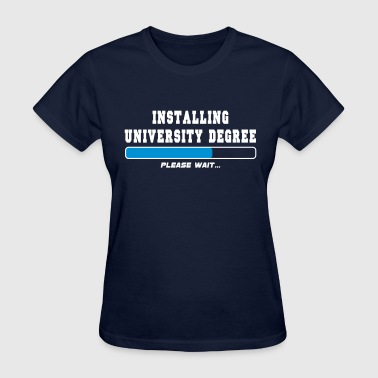 installing degree - Women's T-Shirt
