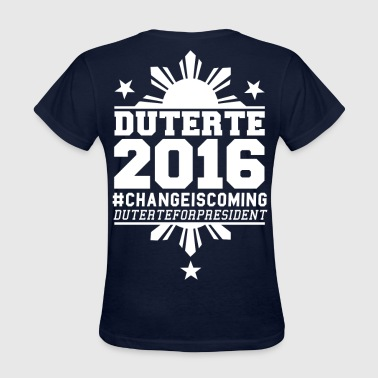 Duterte 2016 - Women's T-Shirt