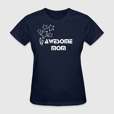Awesome MOM Women's standard weight T-shirt - Women's T-Shirt