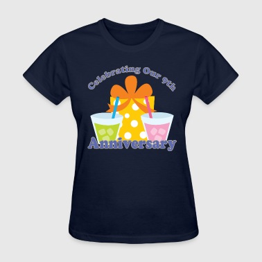 9th Anniversary Party Celebration - Women's T-Shirt