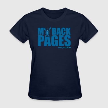 My Back Pages logo - Women's T-Shirt