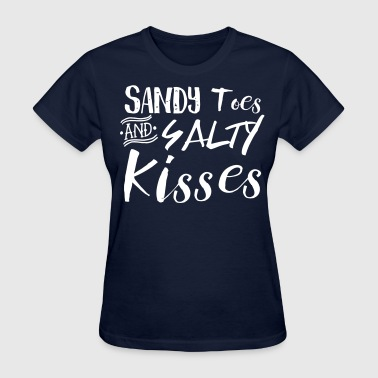 Sandy Toes and Salty Kisses - Women's T-Shirt