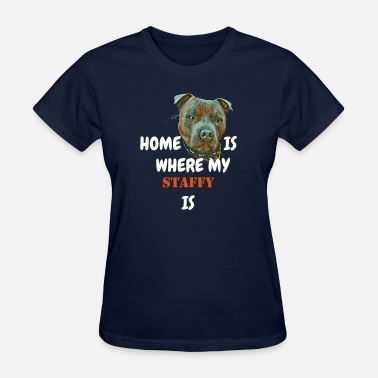 Staffie Dog Bandana Staffy - Women's T-Shirt