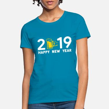 New Rave Happy new year 2019 - Women's T-Shirt