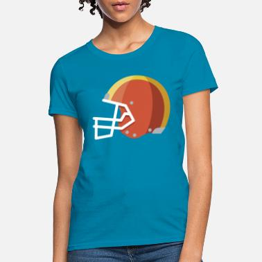 Helmet Football Helmet - Women's T-Shirt