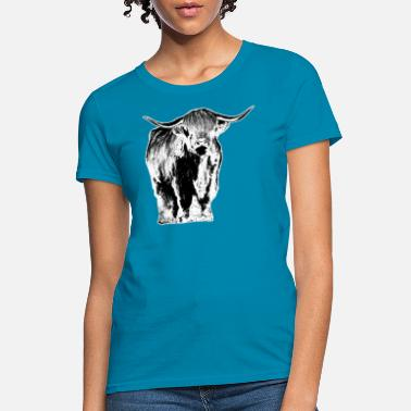 Highland Highland cattle Scotland cow - Women's T-Shirt