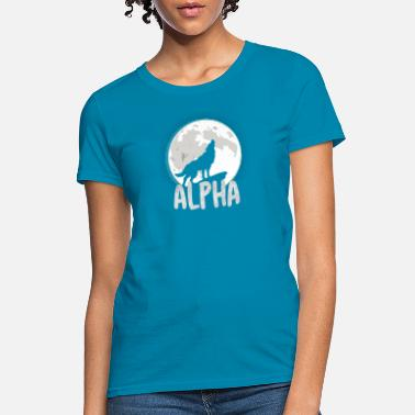 Alpha Alpha Wolf - Women's T-Shirt