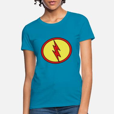 Super Flash Super, Hero, Heroine, Super Flash - Women's T-Shirt