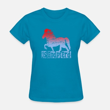 Icelandic Horse Icelandic Horse: Pony Merch - Women's T-Shirt