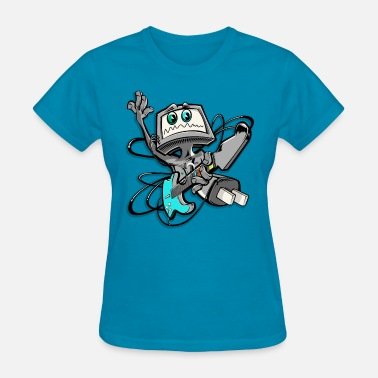 Guitar Man Guitar hero man - Women's T-Shirt