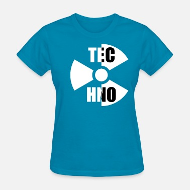 Atom Logo Techno Atomic Logo - Women's T-Shirt