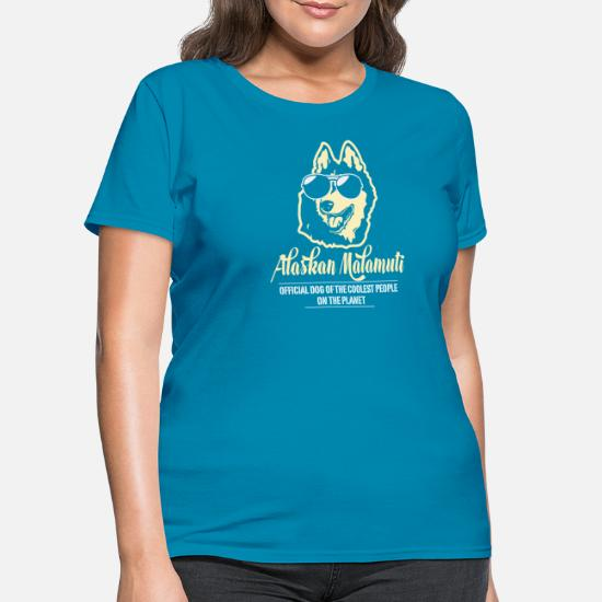 b11ae8f1f Alaskan Malamute Official Dog Of The Coolest Women's T-Shirt ...