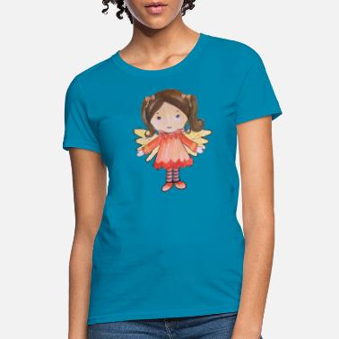 Fairy Tail For Girls Girl fairy watercolor - Women's T-Shirt