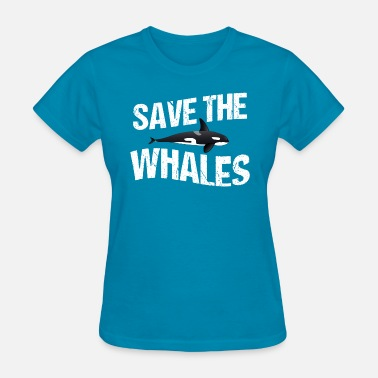 Blackfish Save the Whales - Women's T-Shirt