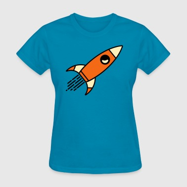 Space Rocket - Women's T-Shirt