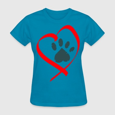 love animals - Women's T-Shirt