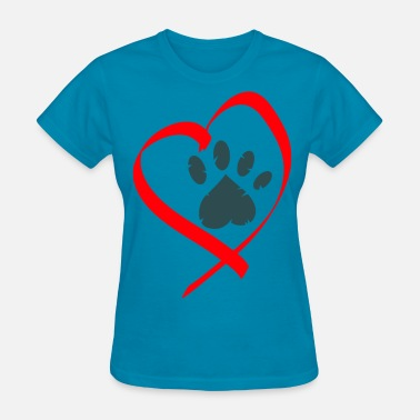 Animal Love love animals - Women's T-Shirt