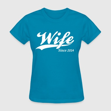 Wife Since 2014 - Women's T-Shirt