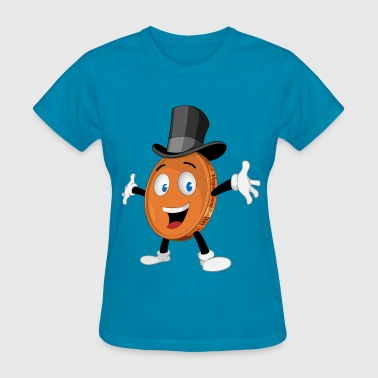 THE HAPPY PENNY - Women's T-Shirt