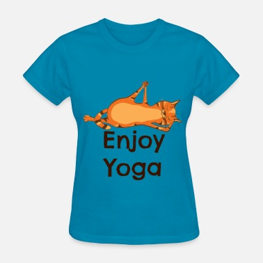 Cats Yoga Yoga Cat - Enjoy Yoga - Women's T-Shirt