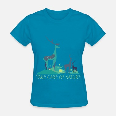 Biodiversity take_care_of_nature_06201601 - Women's T-Shirt