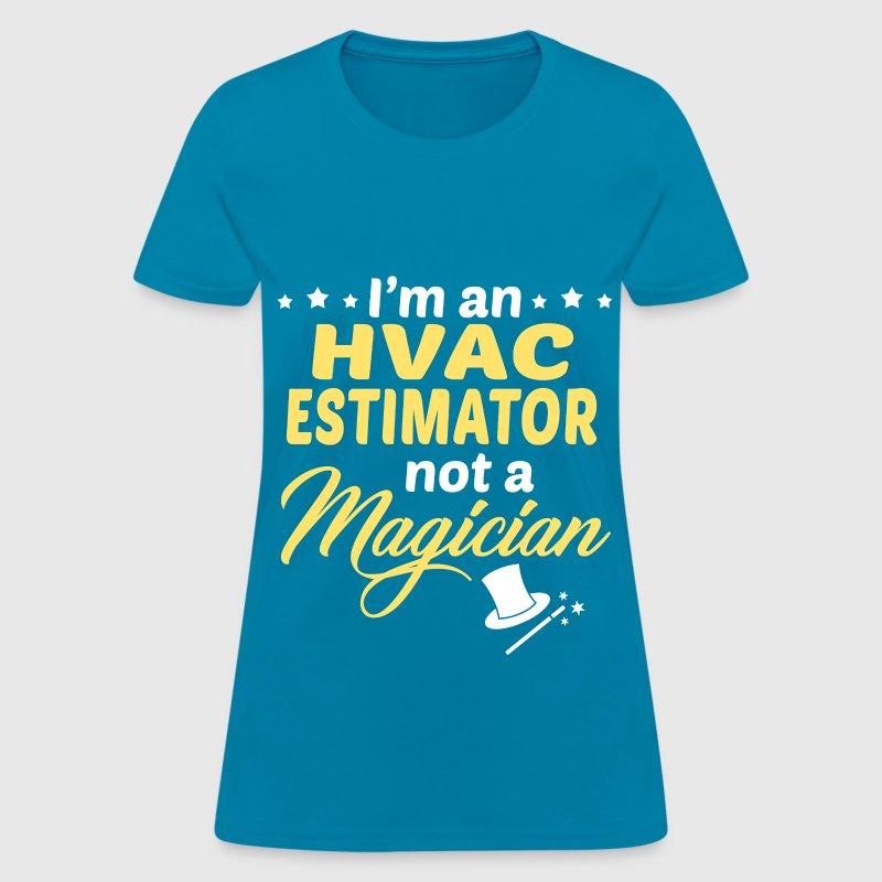 hvac estimator t shirt spreadshirt - Hvac Estimator