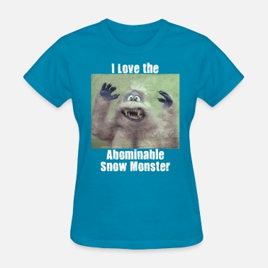 Abominable Snowman Abominable Snowman Vintage Snow Monster Bumble Kids Christmas Gift Ideas Mom Dad Men Women Grandma G - Women's T-Shirt
