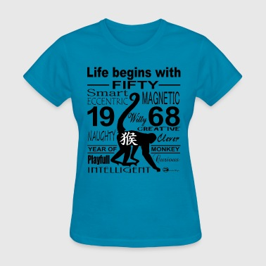 Born in 1968 - Women's T-Shirt