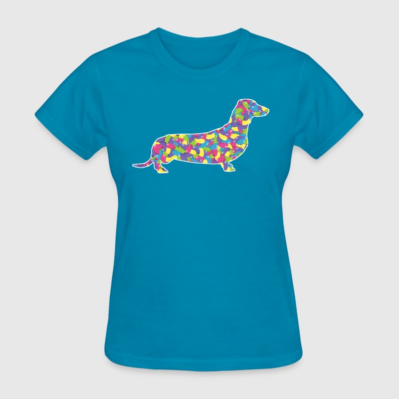 Jelly Bean Dachshund - Women's T-Shirt