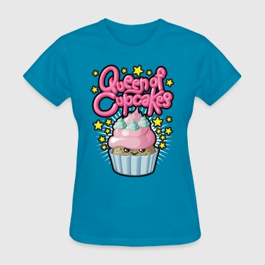 Cupcake Queen Queen of cupcakes - Women's T-Shirt