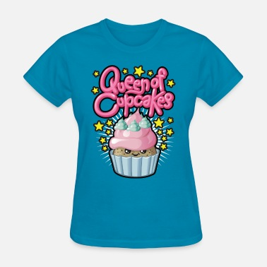 Queen Of Cupcakes Queen of cupcakes - Women's T-Shirt