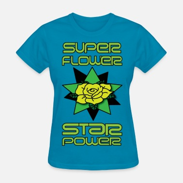 Super 3 Star super flower star power 3 - Women's T-Shirt