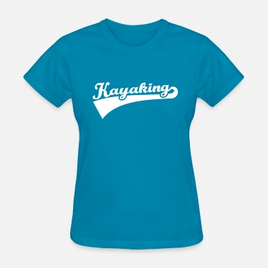 Paddle Boat Kayaking - Women's T-Shirt