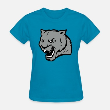 Angry Giant Angry Panther - Women's T-Shirt