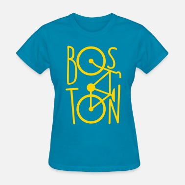 Boston Bicycle BOSTON BIKE BICYCLE - Women's T-Shirt