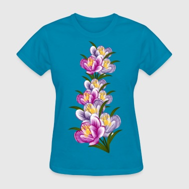 Flowers orchid - Women's T-Shirt