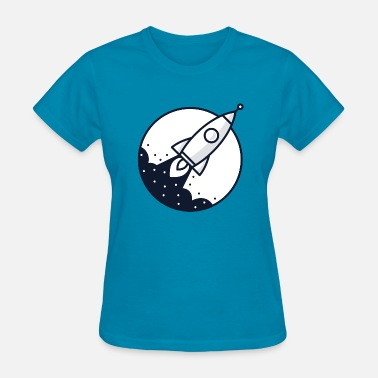 Astronomy Rocket - Women's T-Shirt