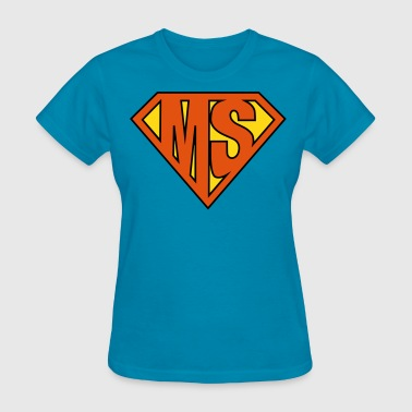 MS Superhero - Women's T-Shirt