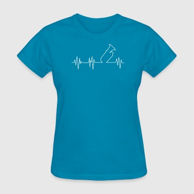 Gift Tuba Heartbeat of Tuba T-Shirt Gift for Tuba Players - Women's T-Shirt