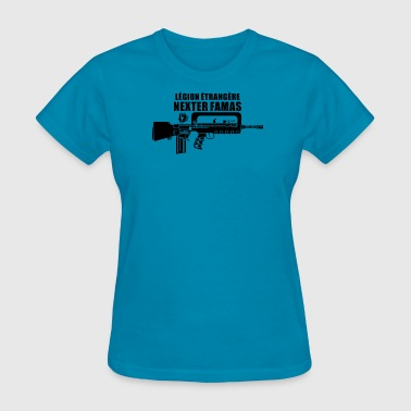 Foreign Word Famas French Foreign Legionnaire - Women's T-Shirt